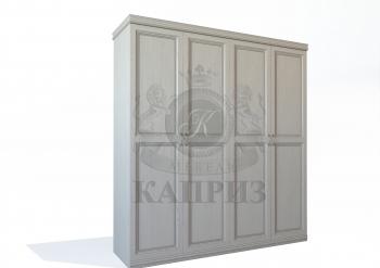 Шкаф №7 4-х створчатый с косичкой