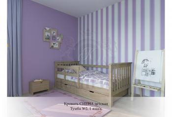 Кровать Сиена детская
