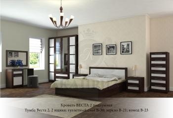 Кровать Веста 2 подиумная