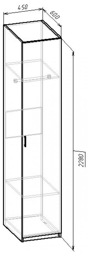 В-04 Шкаф для одежды