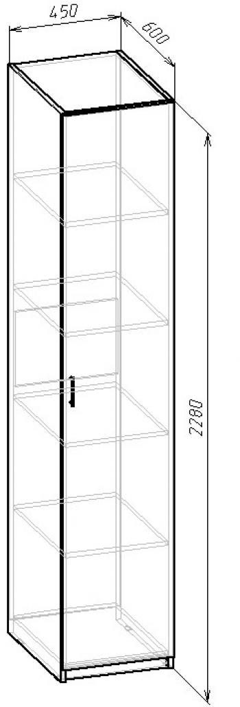 В-05 Шкаф с полками