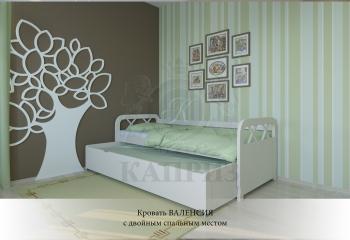 Кровать Валенсия с двойным спальным местом